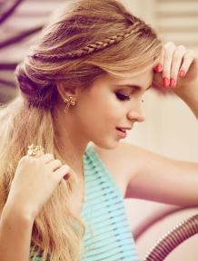 Produção de Moda para o Editorial de Beleza. Revista Capricho 2013.
