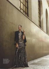 Produção de Moda - Menina de Ouro - Elle Brasil - Maio/2014