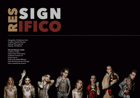 Styling e concepção de Personagem - Ressignifico - Daniel Peixoto e Gui Simi - Outubro 2015