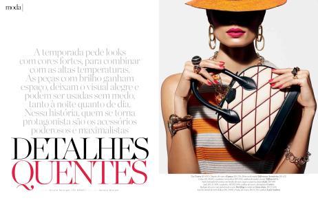 Produção de Moda - Editorial 'Detalhes Quentes' - Marie Claire - Jan/2015