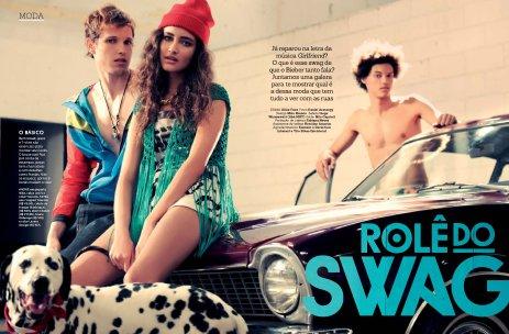 Produção e Styling - Editorial Swag - Capricho Junho/2014