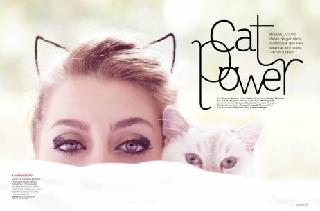 Produção e Estilo CAPRICHO - Cat Power - Abril/14